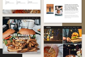 Kolbern Burger Bar & Cafe Theme