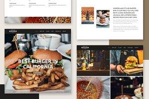 Kolbern Burger Bar & Cafe Theme