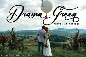 Drama Green ~Photoshop Actions