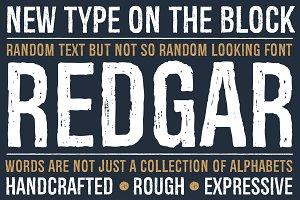 Redgar Font