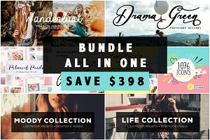 90% OFF Giant Bundle - All in One