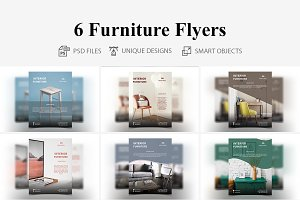 6 Furniture Flyers