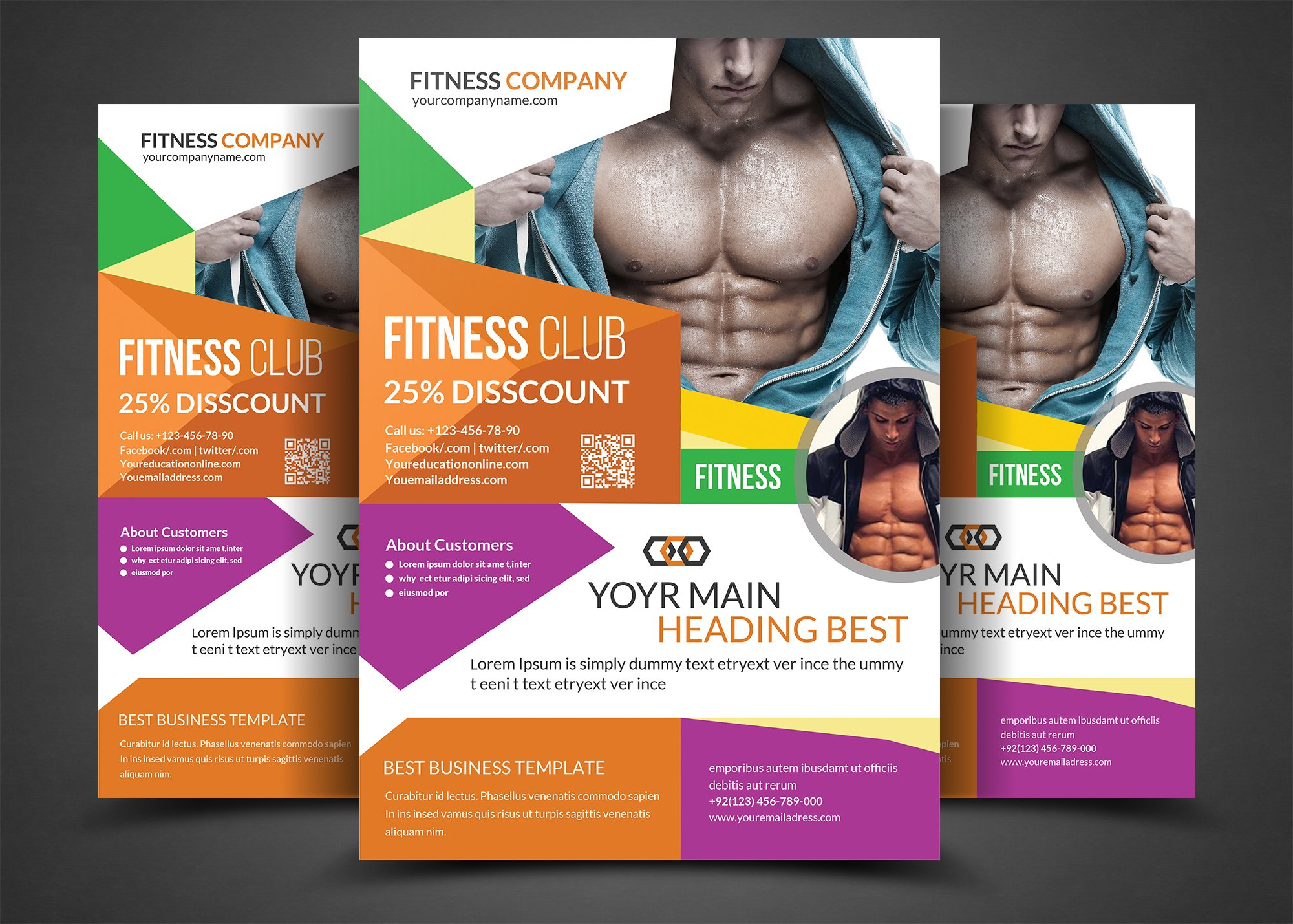 gym flyer photos graphics fonts themes templates creative market