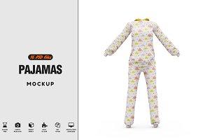 Pajamas Mockup