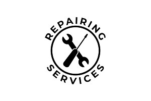Repairing Services Logo Template