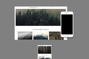 Portfolio Website Builder 20+ THEMES