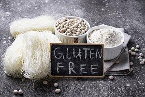 Gluten free  bean flour, and noodle