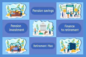 Pension savings Bank account