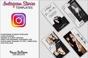 Classy Instagram Stories Templates