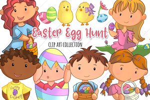 Cute Easter Egg Hunt Collection