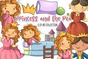 Princess and the Pea Clip Art