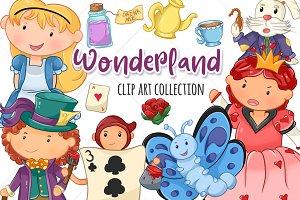 Wonderland Clip Art Collection
