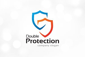 Shield Protection Logo Template