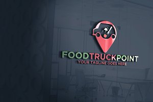 Food Truck Point Logo