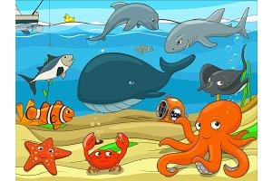 Underwater life 01