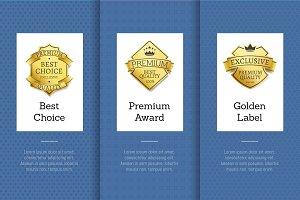Best Choice Premium Award Golden