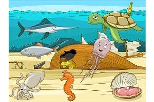 Underwater life 02