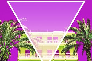 hotel with inversion colours