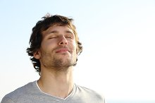 Attractive man breathing outdoor.jpg