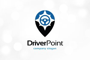 Driver Point Logo Template