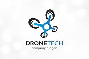 Drone Technology Logo Template