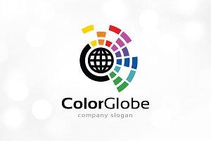 Color Globe Logo Template