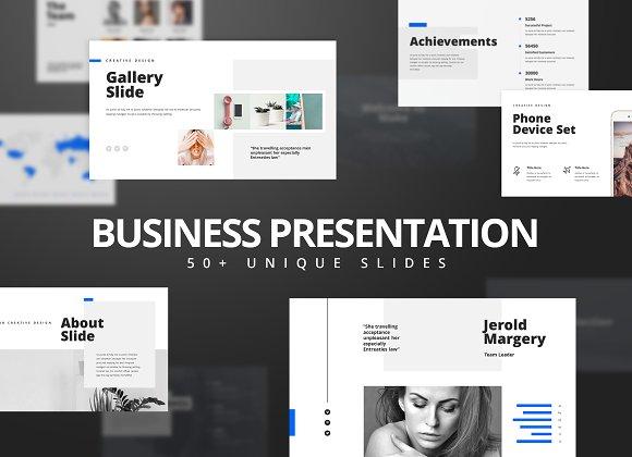 Modern Keynote Presentation Template Presentation Templates