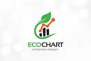 Eco Chart Logo Template