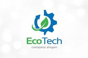 Eco Technology Logo Template