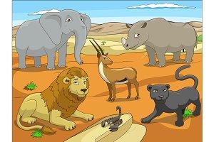 African savannah 01