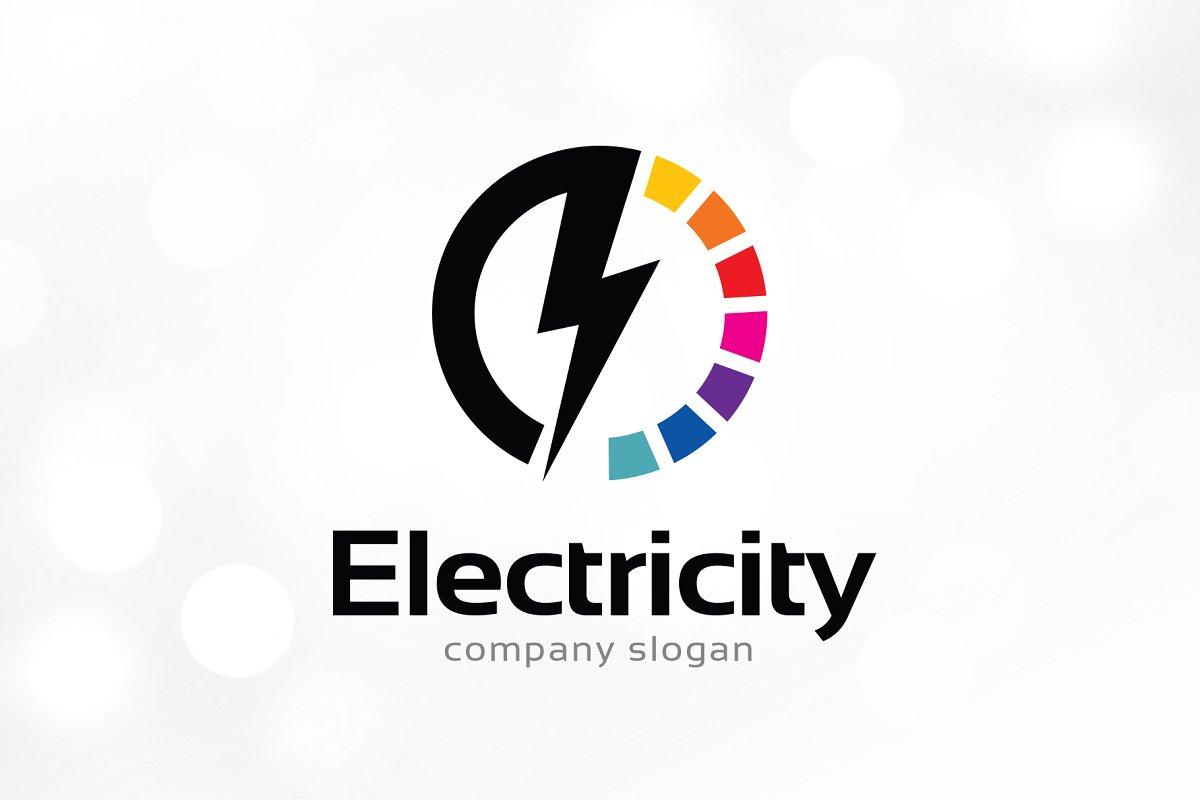 Electric Logo Template