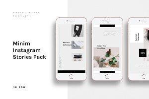 MINIM Instagram Stories Pack