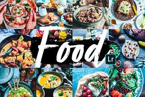 Food Mobile Lightroom Presets