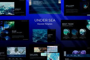 UNDER SEA - Keynote Template