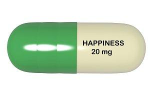 3d illustration antidepressant pill