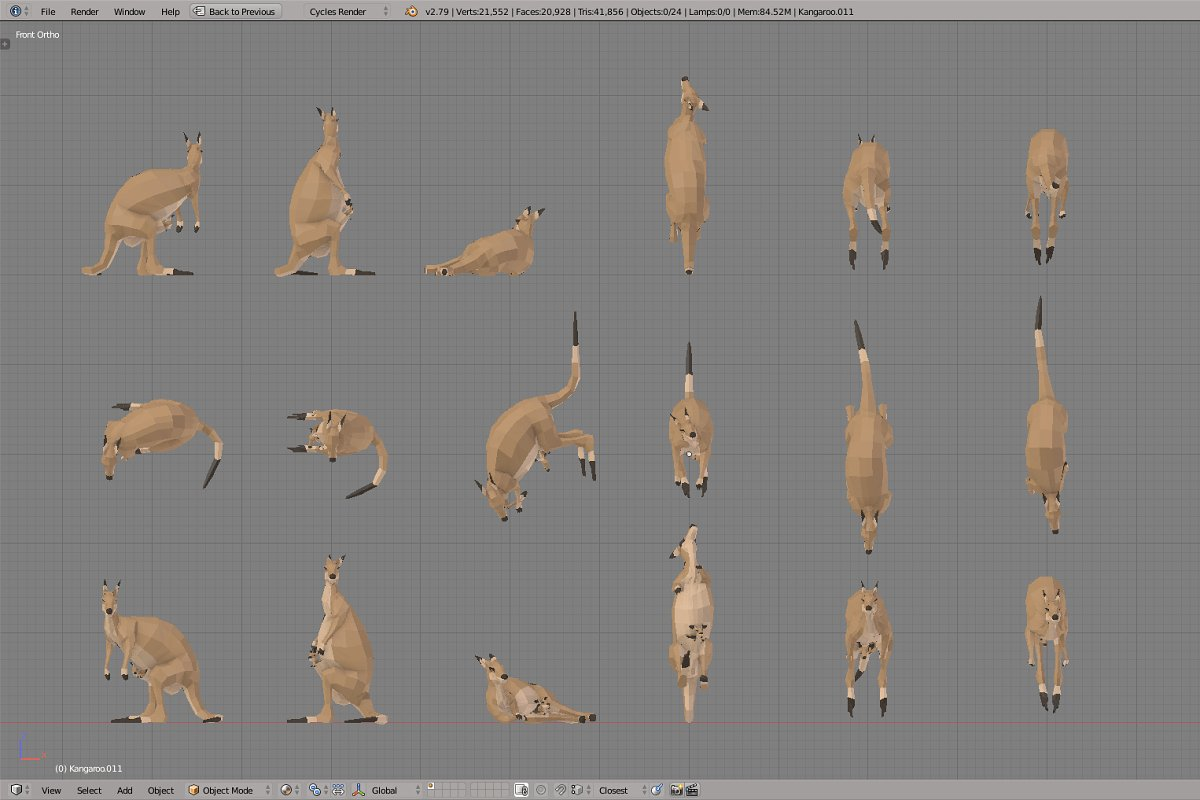 Kangaroo in Animals - product preview 3