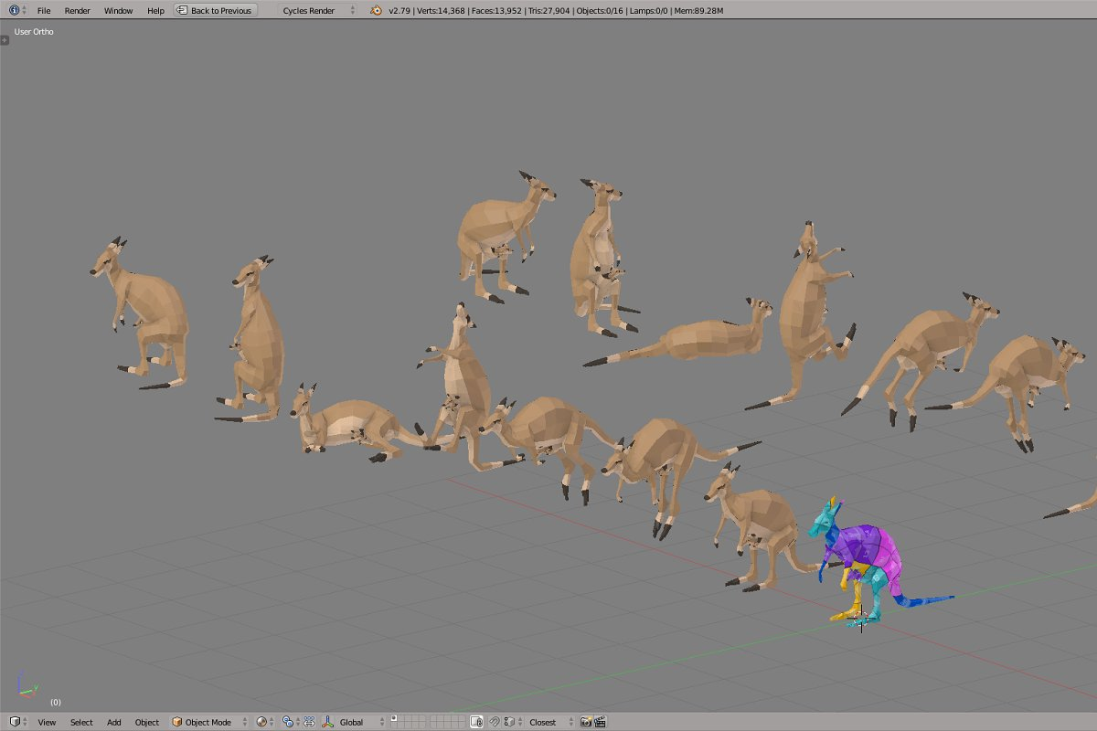 Kangaroo in Animals - product preview 4
