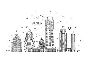Austin Linear Skyline