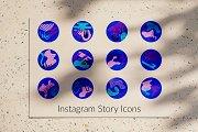 Modern Instagram Story Icons