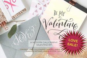Valentine Watercolor Kit SALE