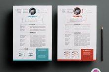 CV template ( 2 color options )