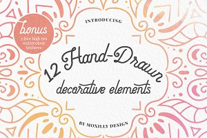 Hand-Drawn Vector Elements