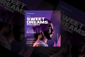 Night Party Flyer Templates