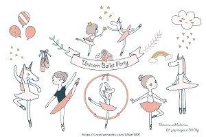 Unicorn Ballet Party