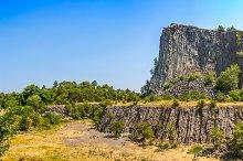 Volcanic rock basaltic formation