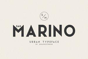 San Marino // Four Font Files