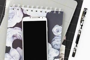 Stock Photo - Grey & Black Desktop 4