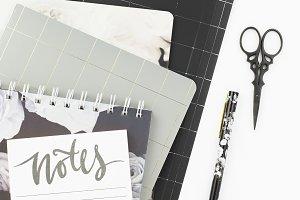 Stock Photo- Grey & Black Desktop 11