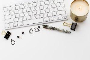 Stock Photo- Grey & Black Desktop 12