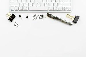 Stock Photo Grey & Black Desktop 17
